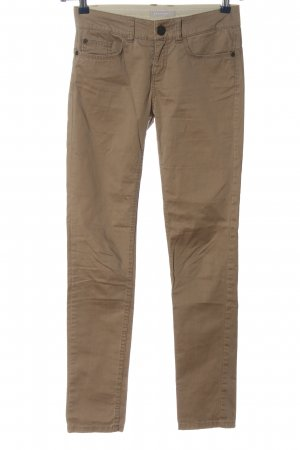 Stefanel Stoffhose creme Casual-Look