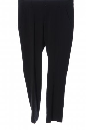 Stefanel Stoffhose schwarz Elegant