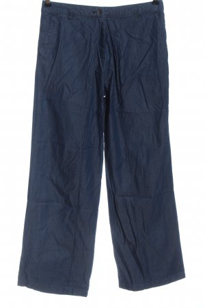 Stefanel Culottes blau Casual-Look