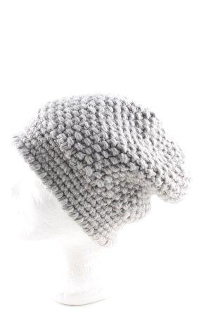 Stefanel Cappello in tessuto grigio chiaro stile casual
