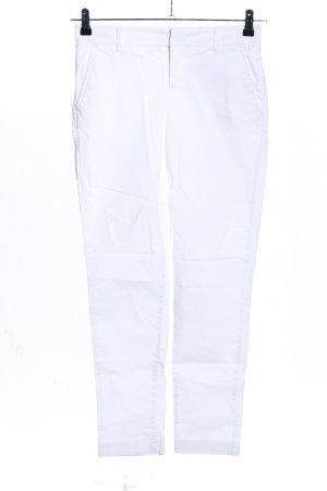 Stefanel Stretch broek wit casual uitstraling