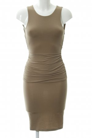 Stefanel Stretchkleid camel Party-Look