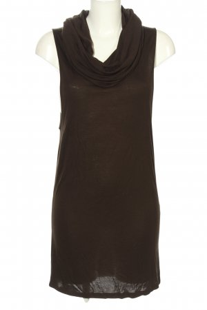 Stefanel Stretch Dress bronze-colored casual look