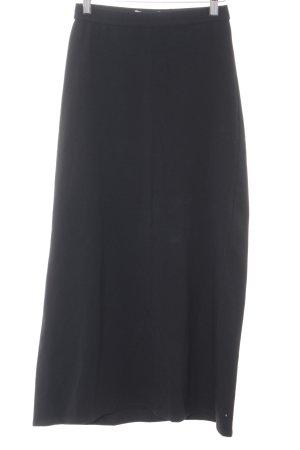 Stefanel Stretchrock schwarz schlichter Stil