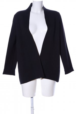 Stefanel Strick Cardigan schwarz Business-Look