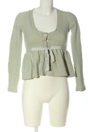 Stefanel Cardigan tricotés gris clair style décontracté