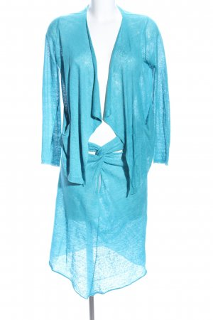 Stefanel Knitted Twin Set blue elegant