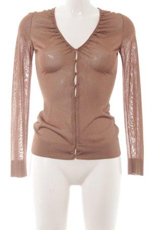 Stefanel Cardigan brown casual look