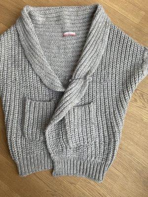 Stefanel Jersey de punto grueso gris