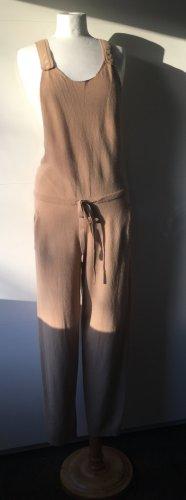 Stefanel Strickoverall Wolle beige NEU