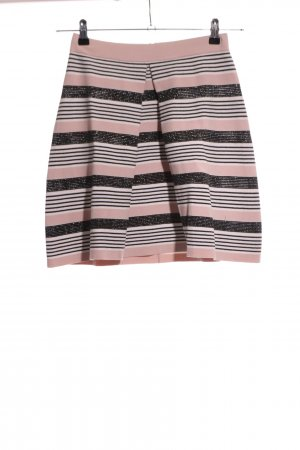 Stefanel Knitted Skirt striped pattern casual look