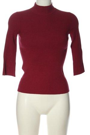 Stefanel Strickshirt rot Casual-Look