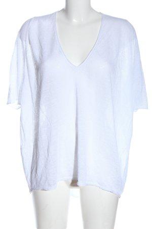 Stefanel T-shirts en mailles tricotées blanc style décontracté