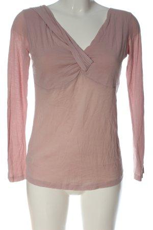 Stefanel T-shirts en mailles tricotées rose style décontracté