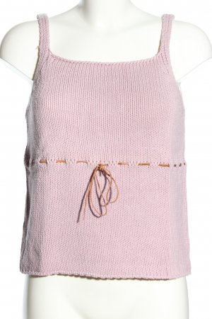 Stefanel Stricktop pink Casual-Look