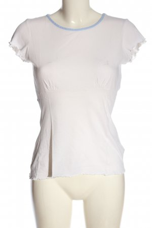 Stefanel Camiseta blanco look casual