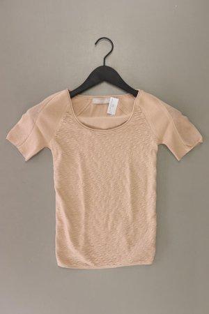Stefanel T-Shirt Größe 34 Kurzarm braun