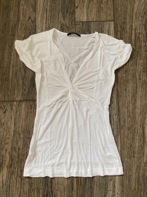 STEFANEL T-Shirt M 38 weiß Top Shirt wie NEU