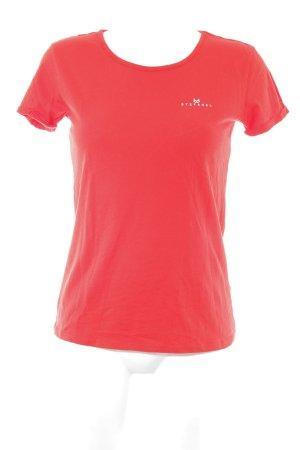 Stefanel Camiseta rojo
