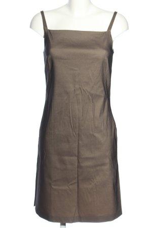Stefanel Trägerkleid bronzefarben Elegant