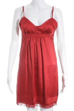 Stefanel Trägerkleid rot Party-Look