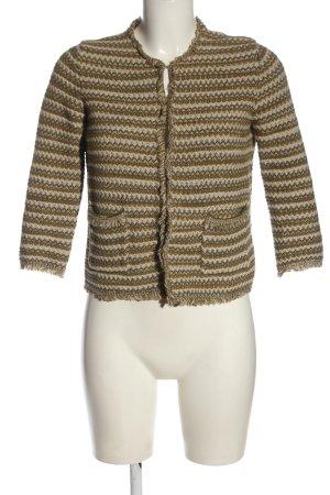 Stefanel Tweed blazer veelkleurig casual uitstraling