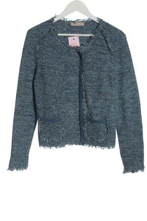 Stefanel Tweed Blazer blue elegant