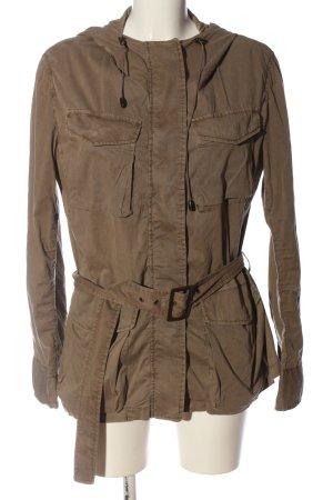 Stefanel Between-Seasons Jacket brown casual look