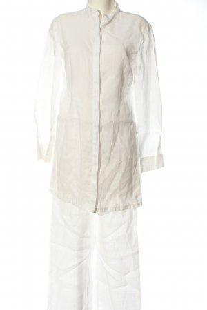 Stefanel Woven Twin Set white business style