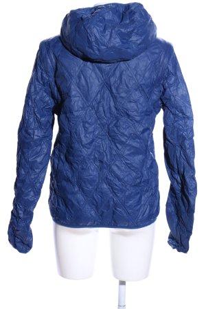 Stefanel Windstopper blau Steppmuster Casual-Look