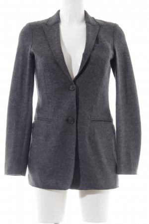 Stefanel Woll-Blazer hellgrau Business-Look