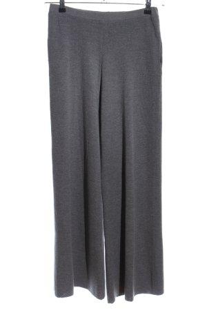 Stefanel Woolen Trousers light grey flecked casual look