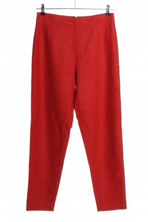 Stefanel Wollhose rot Business-Look