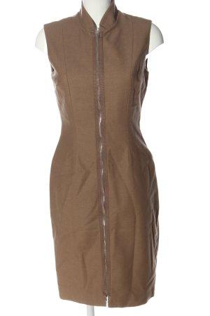 Stefanel Wollkleid bronzefarben Casual-Look