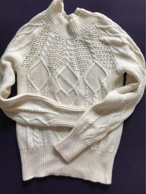 Stefanel Turtleneck Sweater natural white