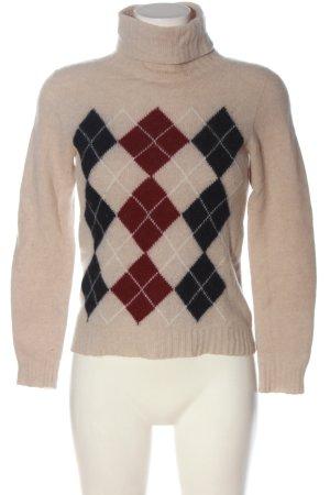 Stefanel Maglione di lana motivo grafico stile casual