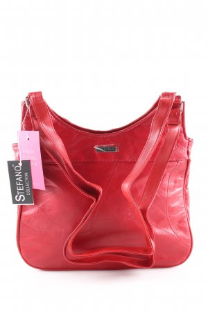 Stefano Schultertasche rot Casual-Look