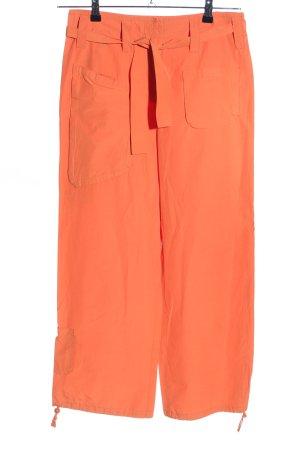 Steffen Schraut Pantalone cargo arancione chiaro stile casual
