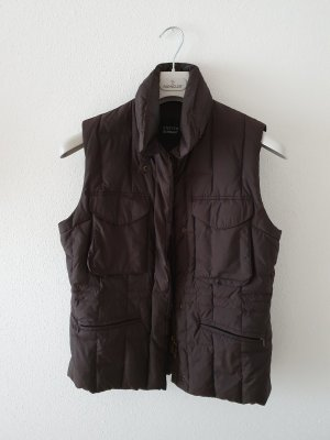 Steffen Schraut Down Vest dark brown