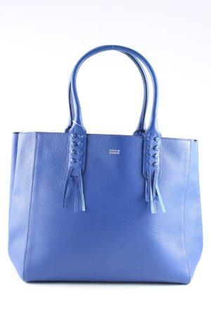 Steffen Schraut Handtasche blau Business-Look