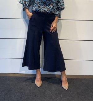 Steffen Schraut Falda pantalón de pernera ancha azul oscuro