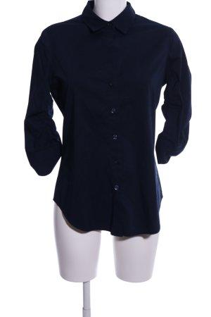 Steffen Schraut Shirt met korte mouwen blauw zakelijke stijl
