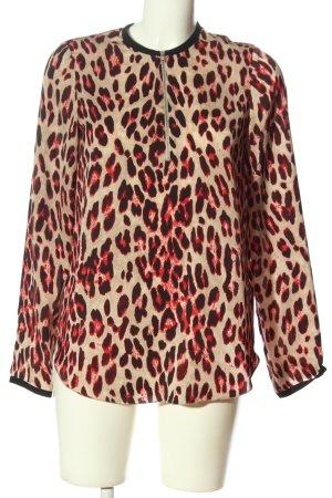 Steffen Schraut Long Sleeve Blouse allover print casual look