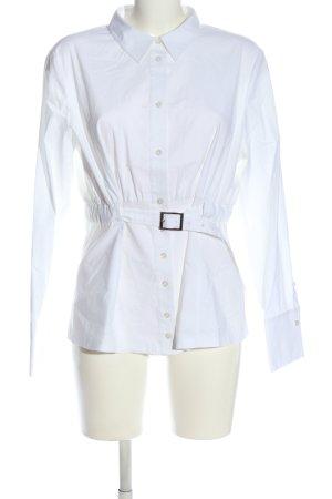 Steffen Schraut Camicia a maniche lunghe bianco stile casual