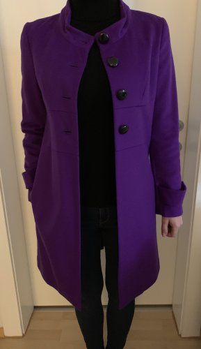 Steffen Schraut Wool Coat dark violet-black
