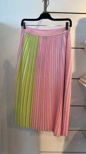 Steffen Schraut Plisowana spódnica różowy-zielona łąka