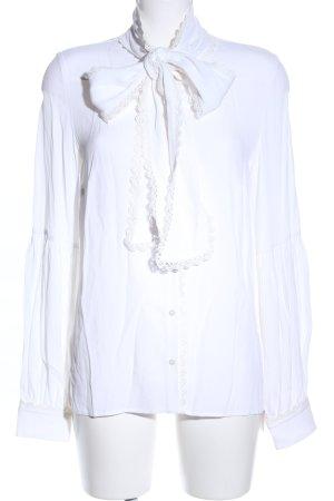 Steffen Schraut Tie-neck Blouse white casual look