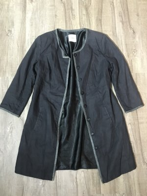 designed by Steffen Schraut Trenchcoat noir-gris anthracite coton