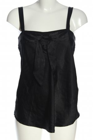 Steffen Schraut Silk Top black casual look