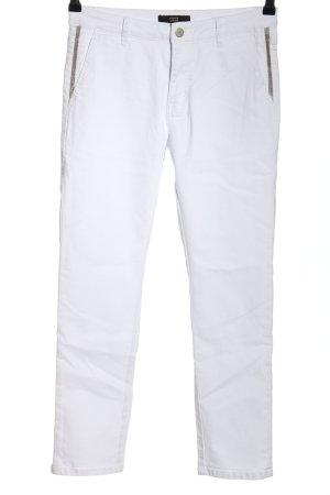 Steffen Schraut Skinny Jeans weiß-silberfarben Casual-Look